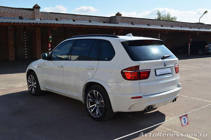 Детейлинг полировка BMW X5M Брянск