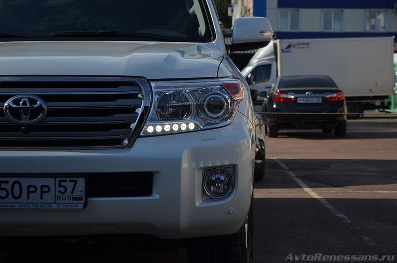 Детейлинг полировка Toyota Land Cruiser 200 Брянск