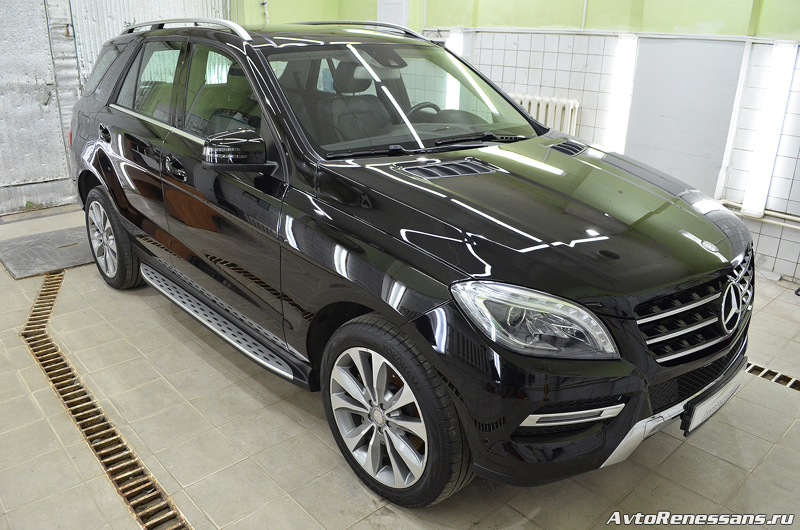 Detailing Mercedes Benz ML400 (52)