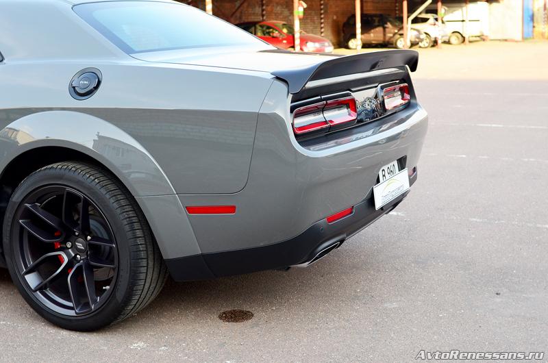 Детейлинг Dodge Challenger4