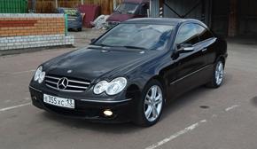 Детейлинг Mercedes-Benz CLK