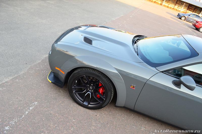 Детейлинг Dodge Challenger7